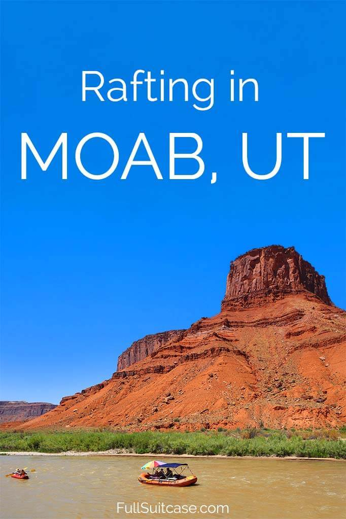 Rafting in Moab - what to expect