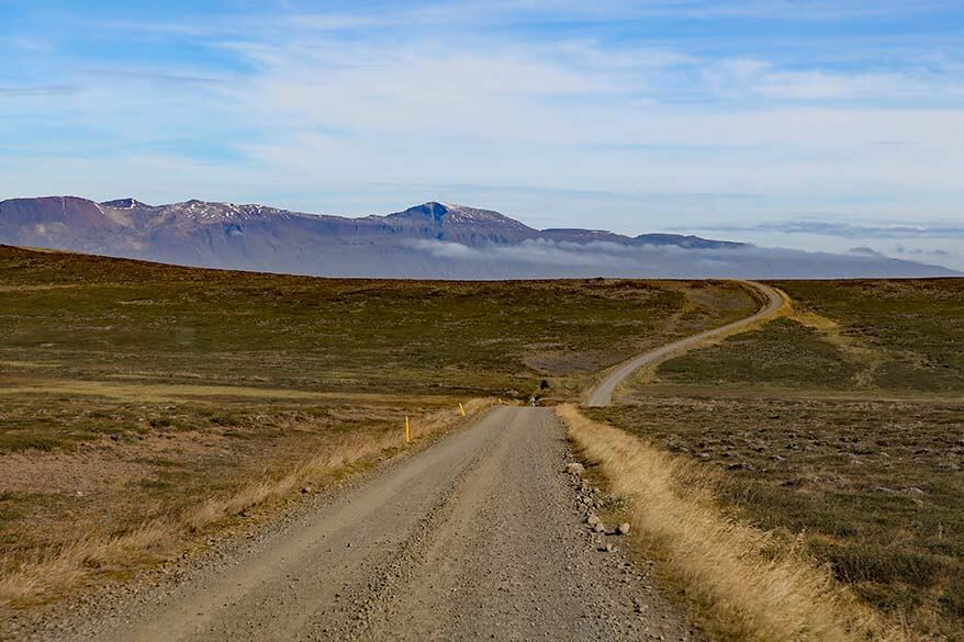 Road 717 in Iceland