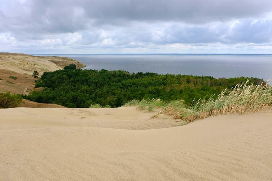 Sand Dunes of the Curonian Spit in Lithuania