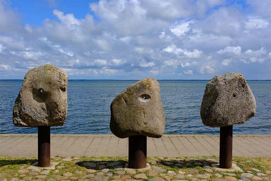 Stone Sculpture Park in Juodkrante - Curonian Spit, Lithuania
