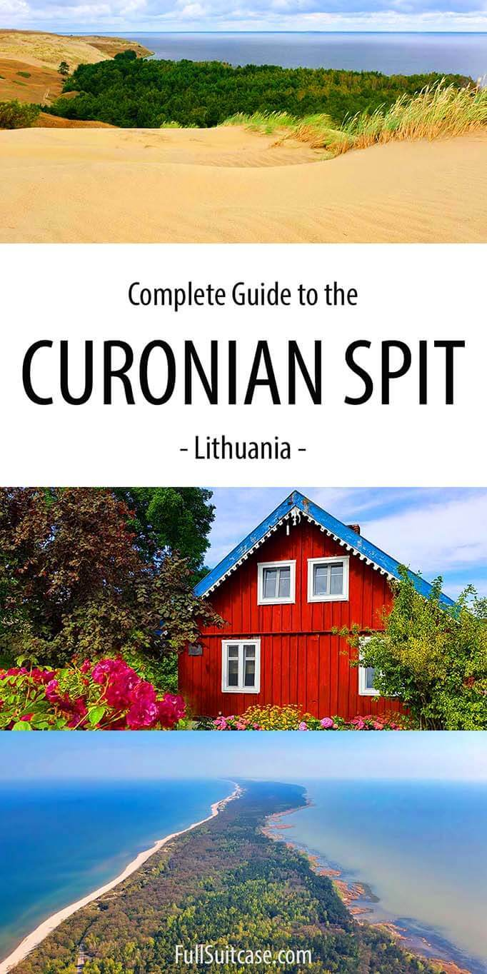 Ultimate guide to the Curonian Spit, Lithuania