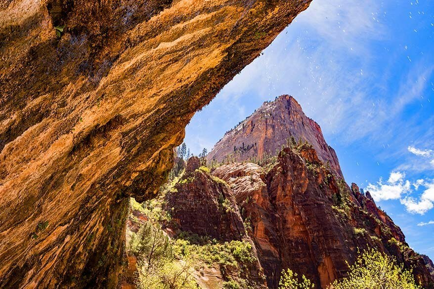 Weeping Rock in Zion National Park
