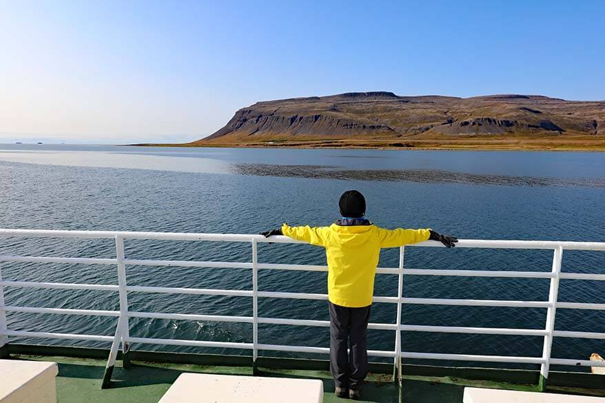 Westfjords ferry