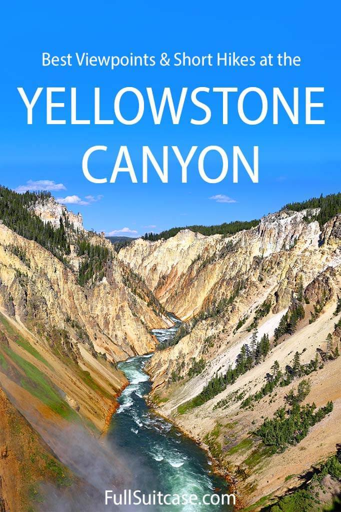 Best tings to do at the Grand Canyon of the Yellowstone