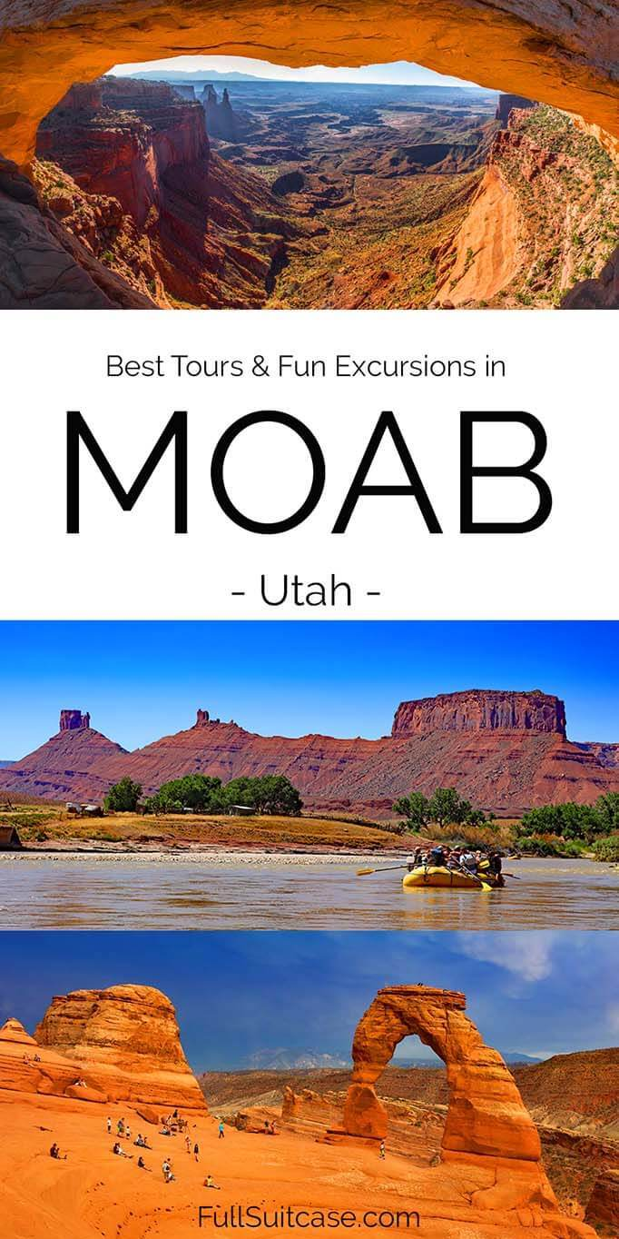 Best tours and excursions in Moab Utah