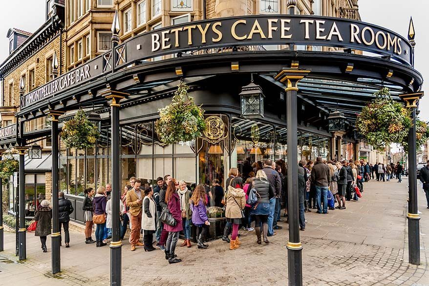 Bettys Cafe Tea Rooms in Harrogate