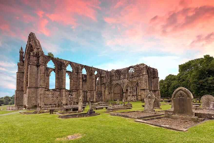 Bolton Abbey - one of the best day trips in Yorkshire
