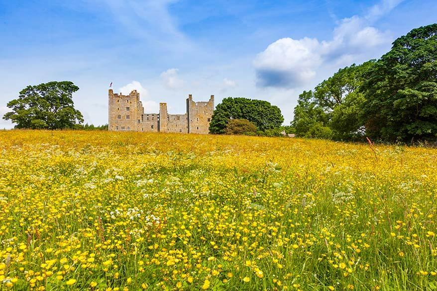 Bolton Castle in Yorkshire
