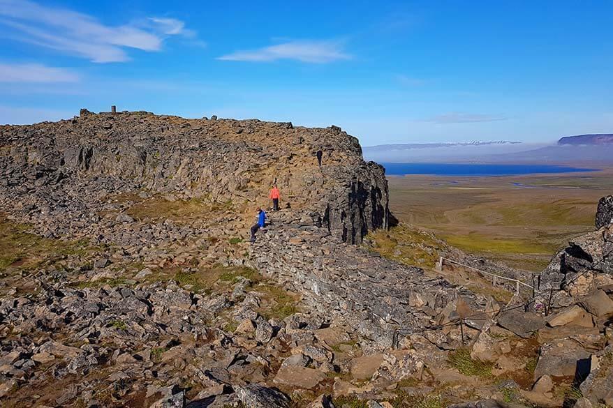 Borgarviki in North Iceland