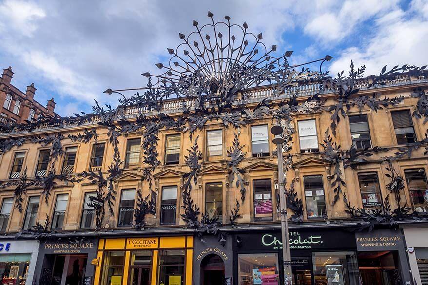 Buchanan Street in Glasgow