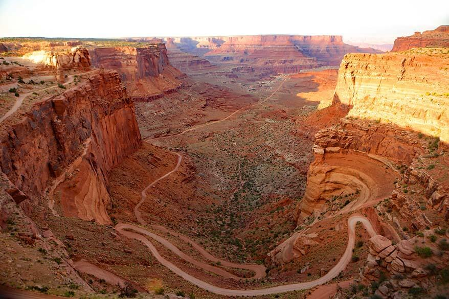 Canyonlands National Park is one of the most popular day tours from Moab