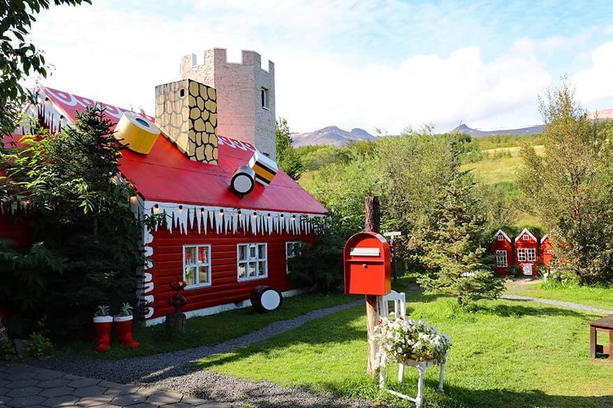 Christmas House near Akureyri in Iceland