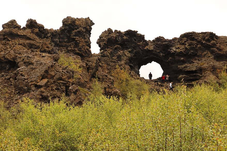 Dimmuborgir - one of the best things to do in Myvatn