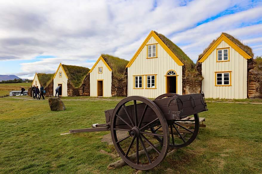 Glaumbaer Farm and Museum in North Iceland
