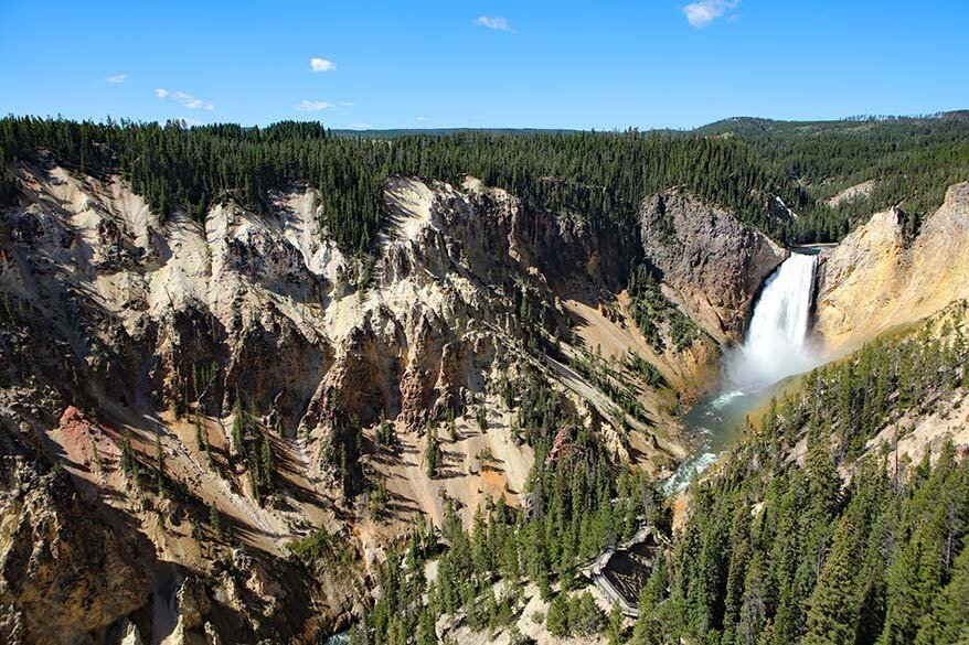 Grand View Point at the Yellowstone Canyon