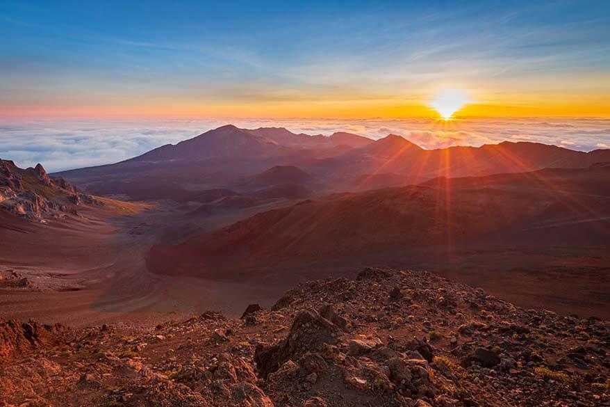 Haleakala sunrise - must see when visiting Maui Hawaii