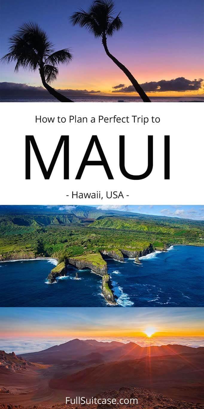 How to plan a trip to Maui
