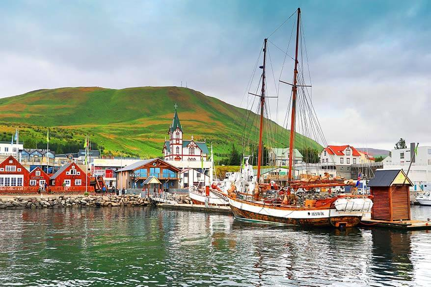 Husavik - the best town to visit in Myvatn area in Iceland