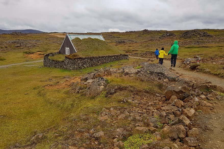 Hveravellir in the highlands of Iceland