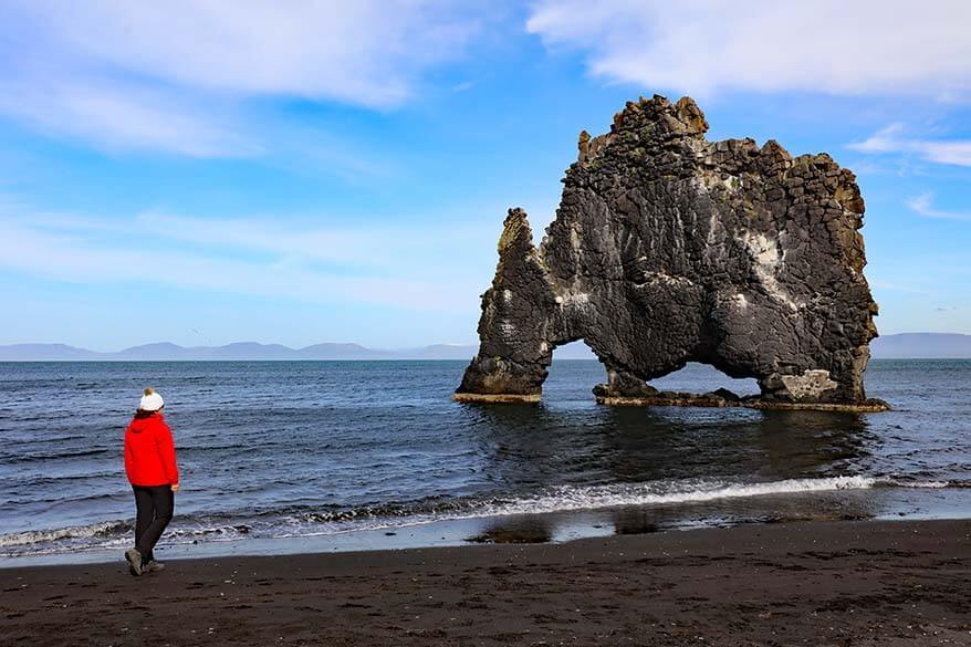 Hvitserkur should be in every North Iceland itinerary