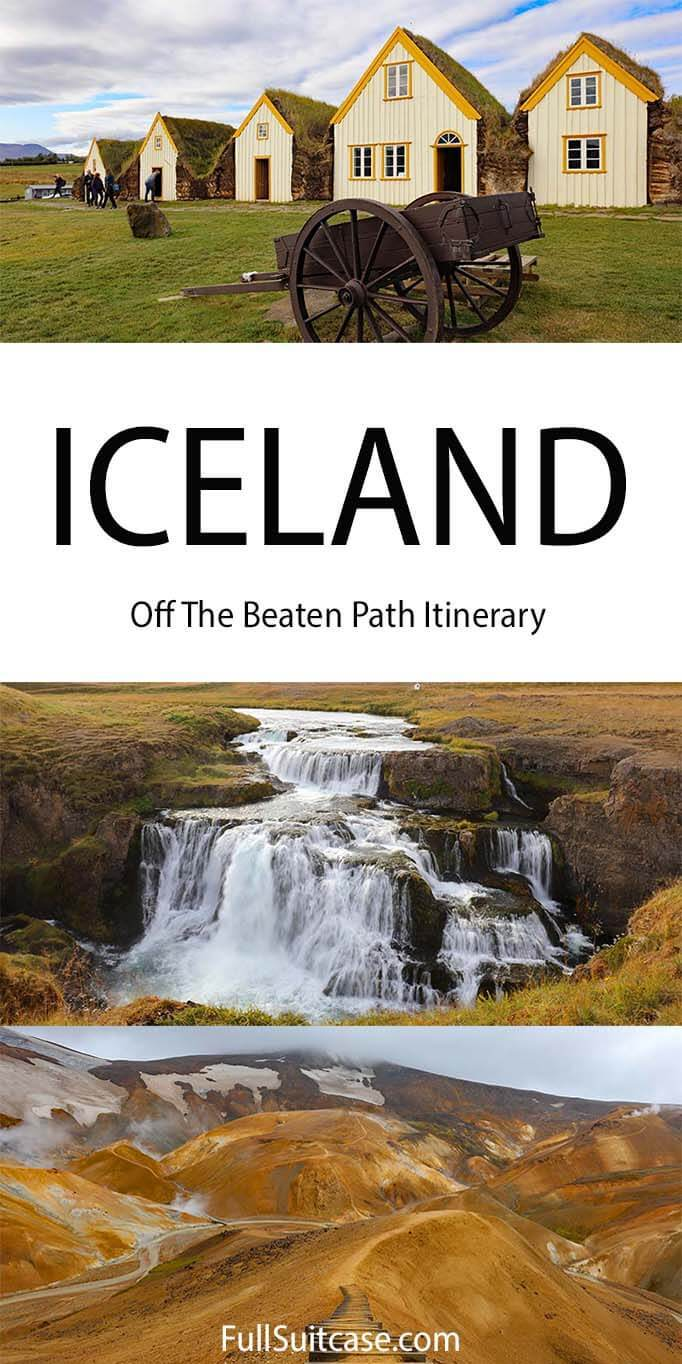 Iceland 10 days itinerary off the beaten path in West and North Iceland