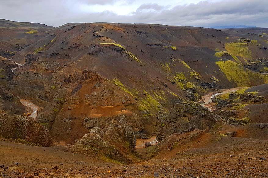 Iceland highlands near Kerlingarfjoll Mountain Resort