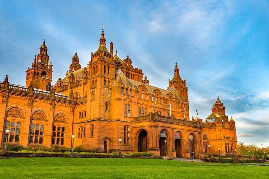 Kelvingrove Art Gallery & Museum in Glasgow