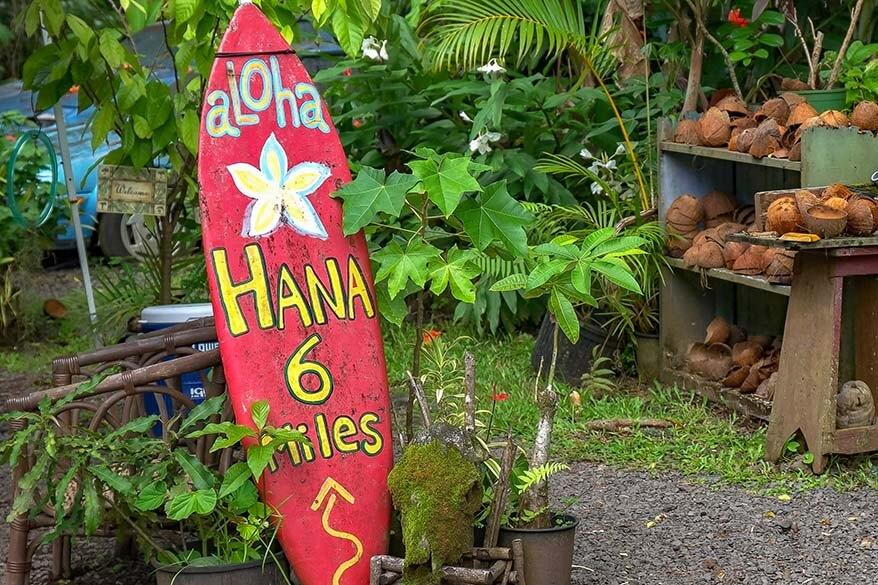 Maui vacation itinerary