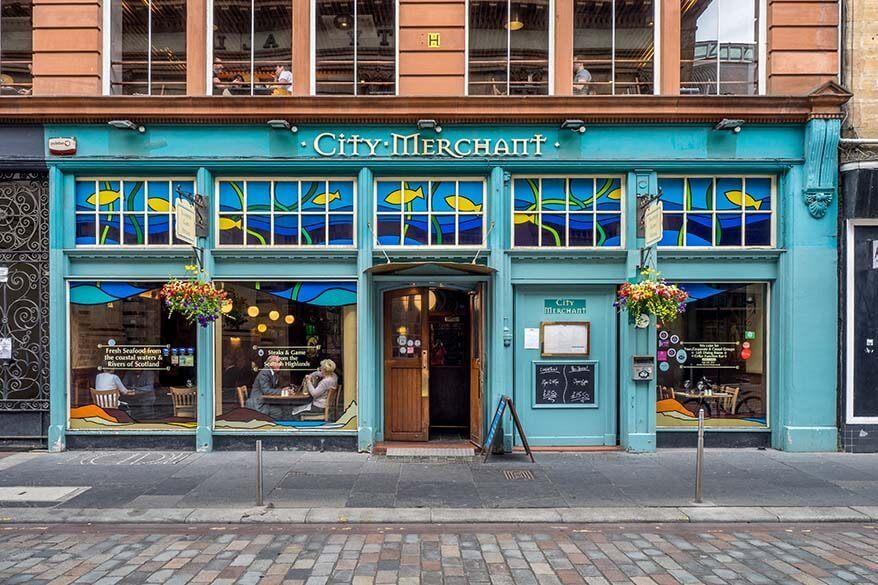 Merchant City in Glasgow