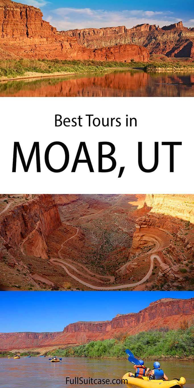 Moab tours, excursions, and day trips