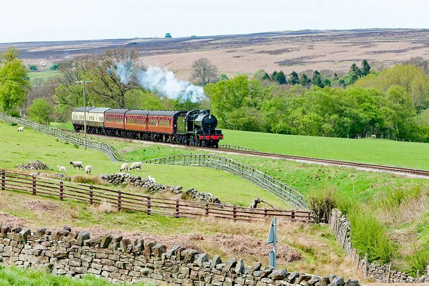 North Yorkshire Moors Railway is one of the best things to do in Yorkshire