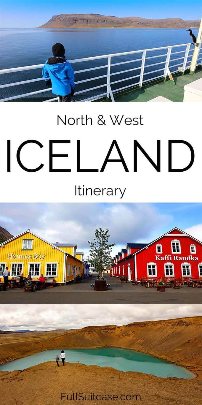 North and West Iceland road trip summer itinerary