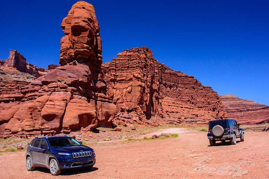 Off-road tours in Moab