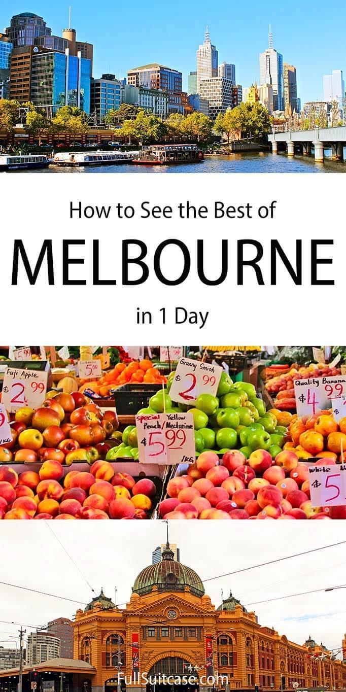One day in Melbourne Australia