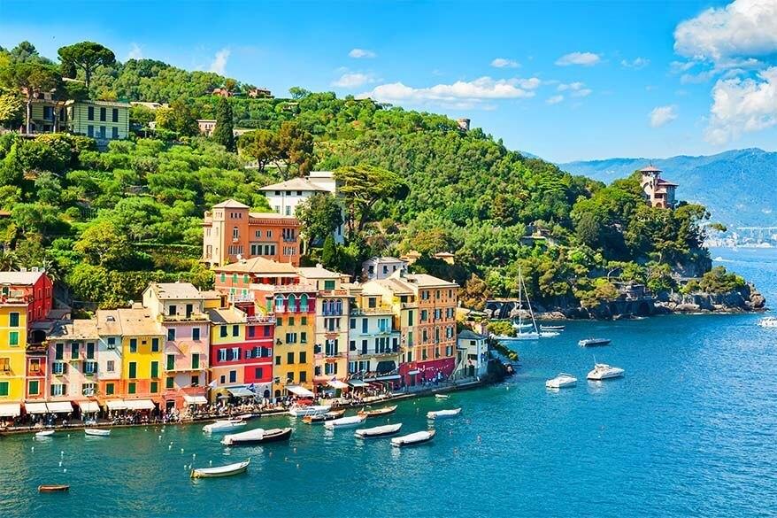 Portofino in the Italian Riviera