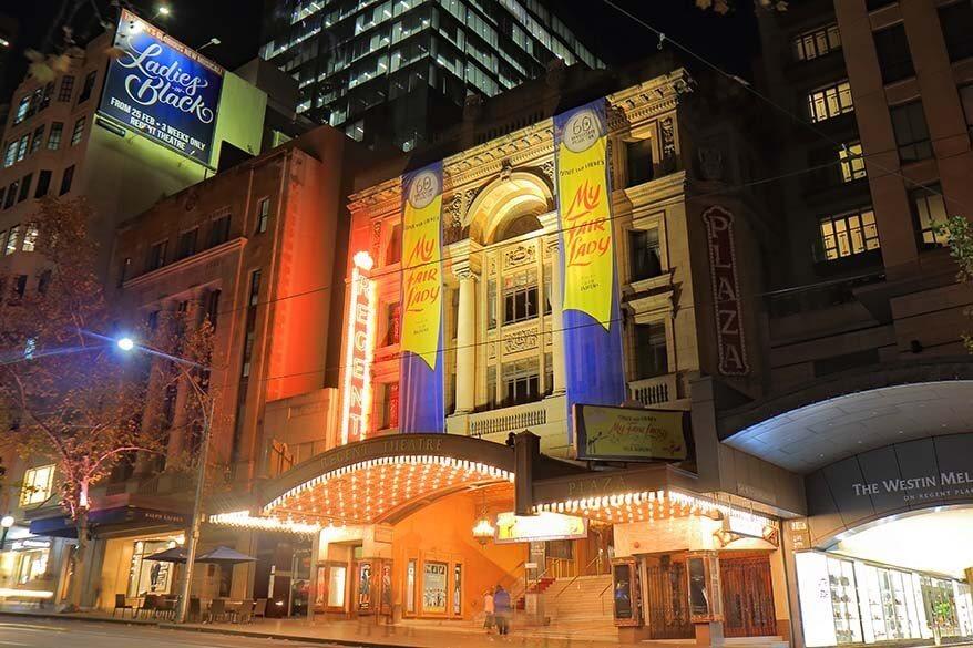 Regent Theater in Melbourne
