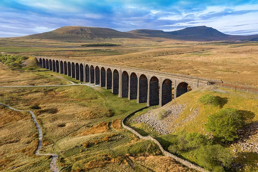 Ribblehead Viaduct in Yorkshire Dales National Park