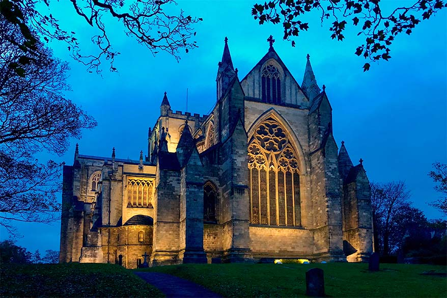 Ripon Cathedral in Yorkshire