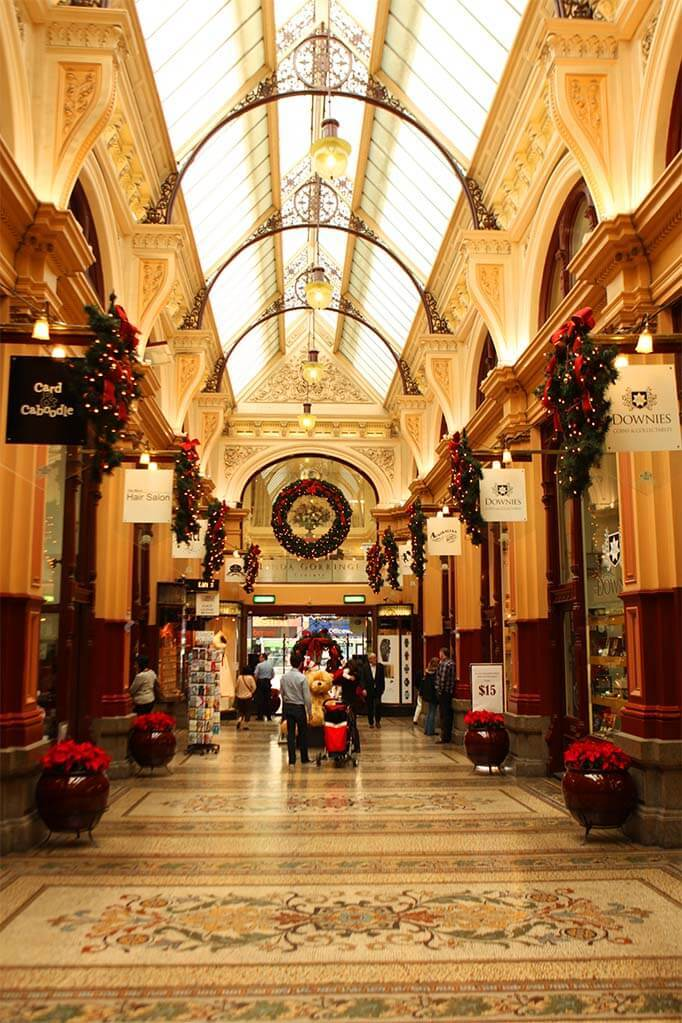 Royal Arcade in Melbourne