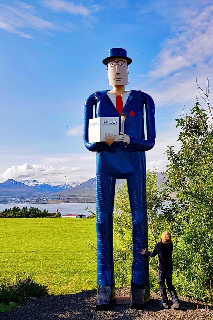 Safnasafnid folk museum near Akureyri