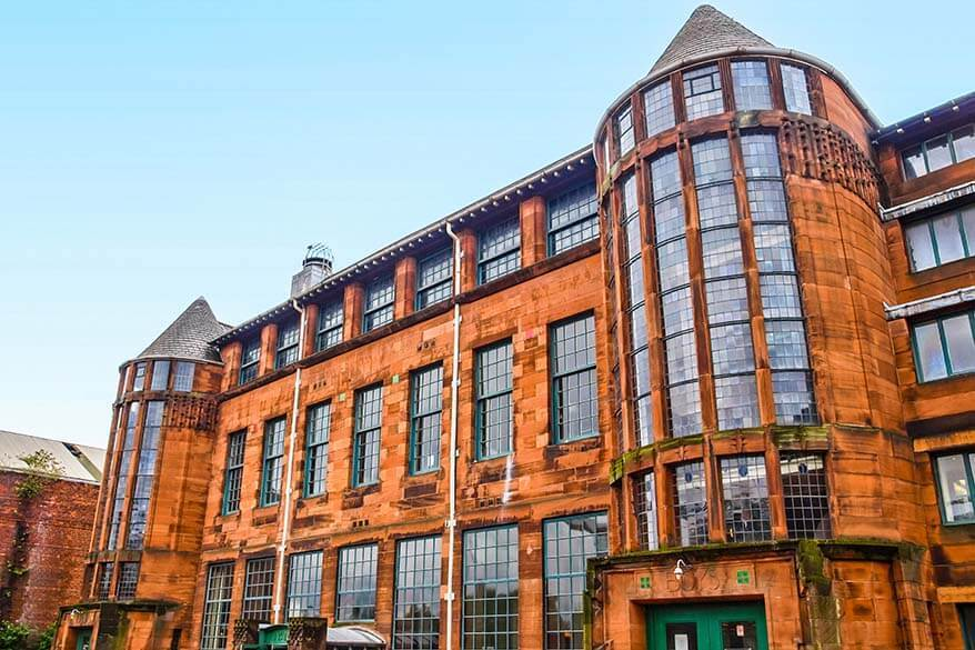 Scotland Street School Museum in Glasgow
