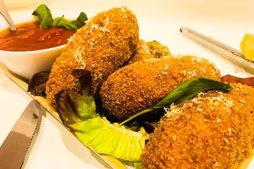 Suppli al telefono - Lazio food
