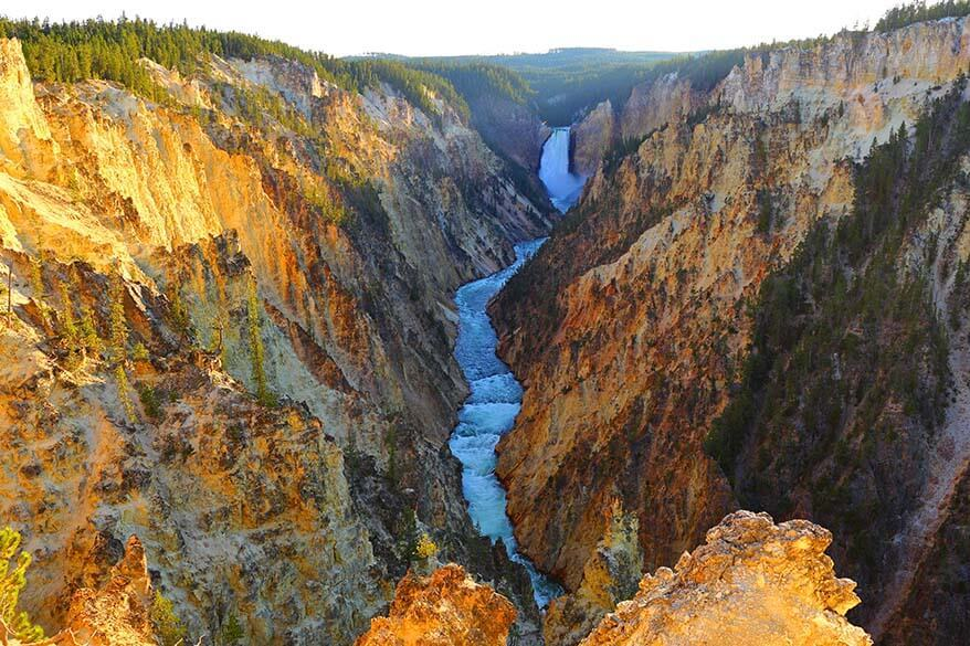Things to do at the Yellowstone Canyon