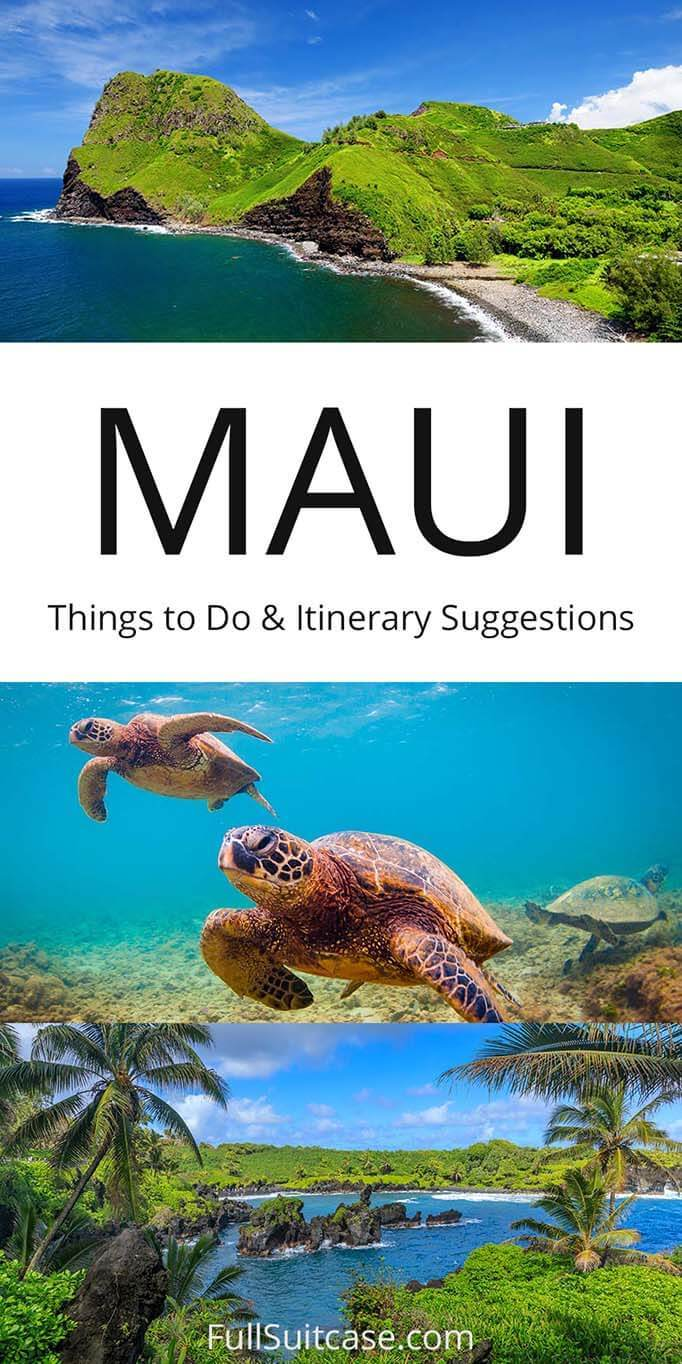 Things to do in Maui and itinerary ideas for your first trip