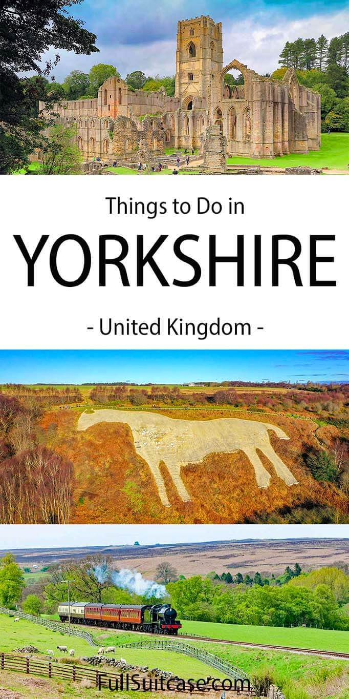 Things to do in Yorkshire as a day trip from York