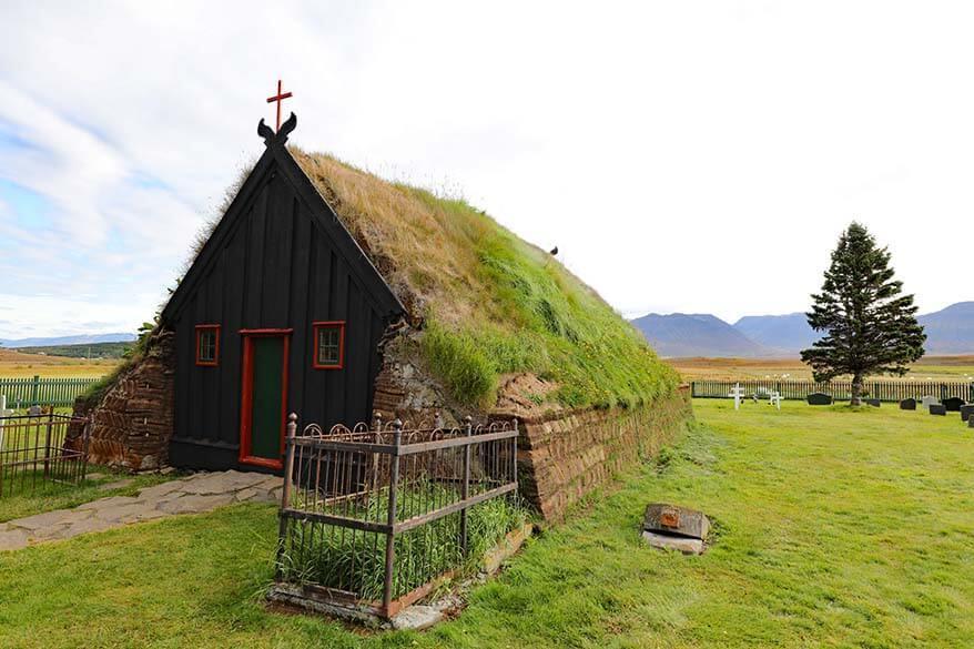 Vidimyrarkirkja in North Iceland