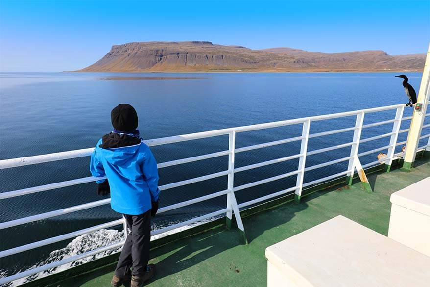Westfjords ferry