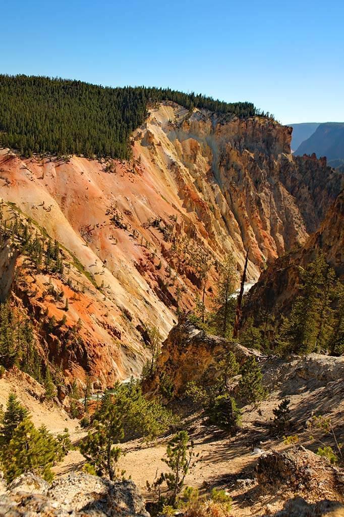 Yellowstone Grand Canyon South Rim Trail