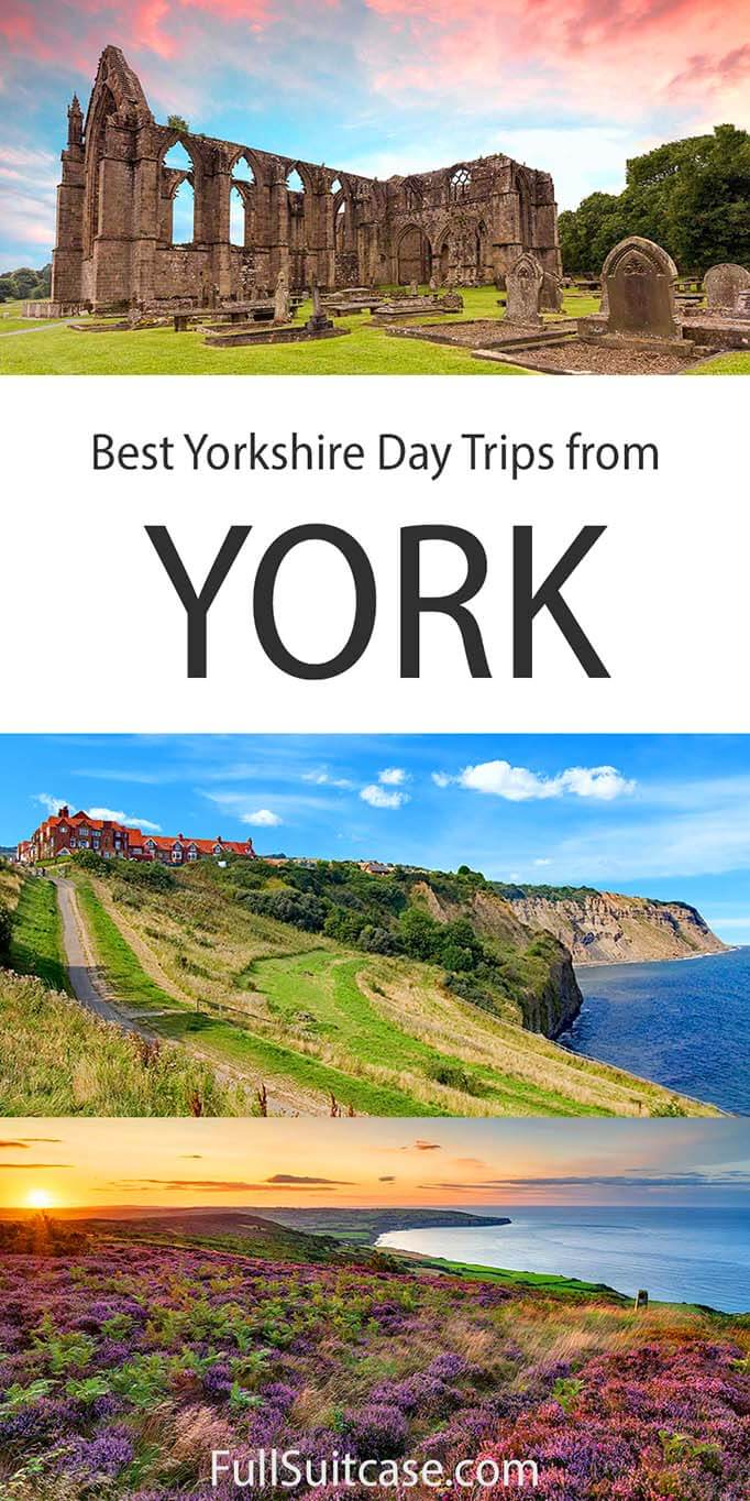 Yorkshire day trips from York