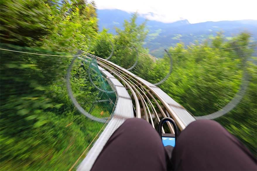 Arena Coaster - Alpine toboggan run in Zillertal